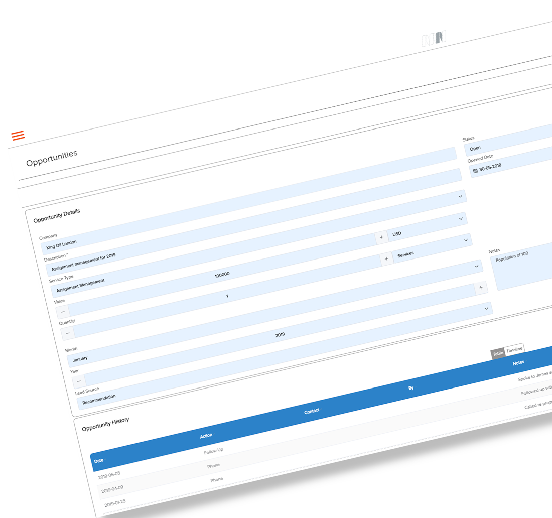 Mai-relo product feature - customer relationship management