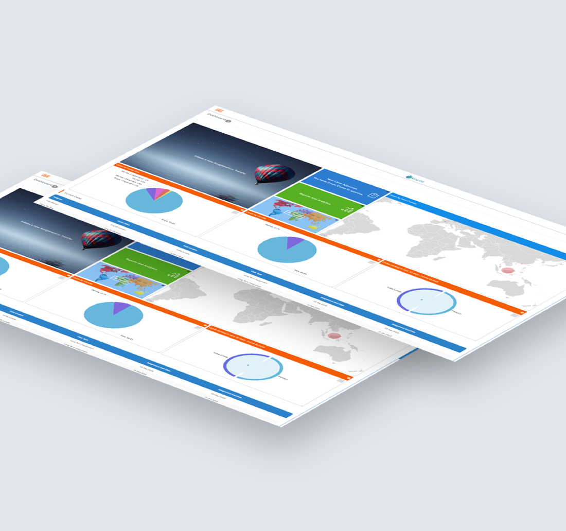 Mai-relo product feature - real-time reports dashboard